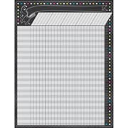 "17"" by 22"" Chalkboard Brights Incentive Chart, Multicolor (TCR7564)"