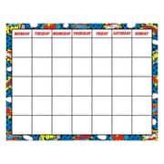 "17"" by 22"" Superhero Chart, Multicolor (TCR7569)"
