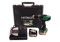 Hitachi 14.4-Volt Li-Ion Driver Drill with 3.0-Amp Slide Battery
