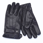 Royce Leather Men's Lambskin Touchscreen Glove , Black, Extra Large