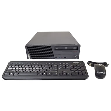 Lenovo ThinkCentre (M70e) Refurbished PC, 2.66 GHz Intel® Core 2 Duo E7300, 2GB RAM, 250GB HDD, English