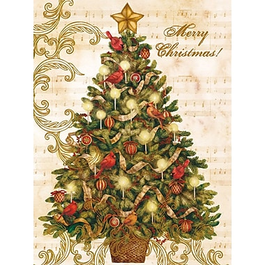 Lang Christmas Tree Boxed Christmas Cards, 1 Design, 18 Cards/Box
