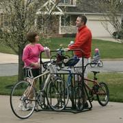Gear Up Inc. Parkrak Series 6 Bike Deluxe Park Stand Freestanding Bike Rack