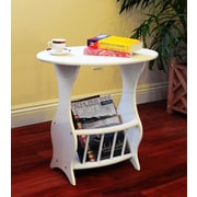 Mega Home Magazine Table in White