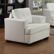 Beverly Fine Furniture Cecilia Lounge Chair; White