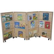Wood Designs Mobile Bookcase