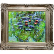 Tori Home Water Lilies by Claude Monet Framed Painting Print