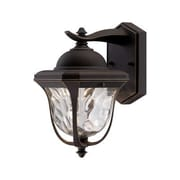 Designers Fountain Marquette 1 Light Outdoor Wall Lantern; 14.25'' H x 8.5'' W x 9.75'' D