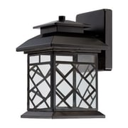 Designers Fountain Woodmere 1 Light Outdoor Wall Lantern; 11'' H x 6.5'' W x 8.25'' D