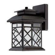 Designers Fountain Woodmere 1 Light Outdoor Wall Lantern; 10.25'' H x 8.5'' W x 13.25'' D