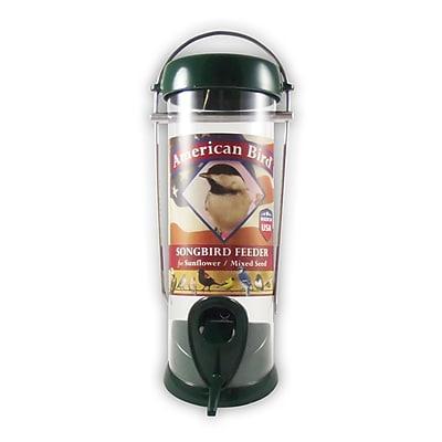 Droll Yankees American 2 Port Songbird Tube Bird Feeder WYF078277868944