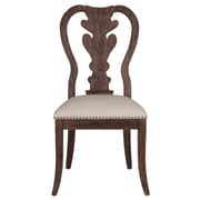 Orient Express Furniture Traditions Lotus Side Chair (Set of 2); Rustic Java