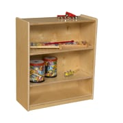 Wood Designs Small Bookcase w/ Adjustable Shelves