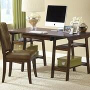 Hillsdale Parkglen Computer Desk and Chair Set; Cherry