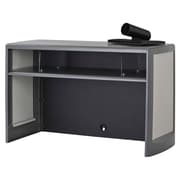 Buddy Products 18.5'' H x 30'' W Metal Hutch; Charcoal