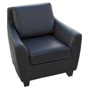 Home Loft Concepts Konz Bonded Leather Club Chair