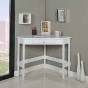 InRoom Designs Writing Desk; White
