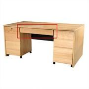 Rush Furniture Modular Real Oak Wood Veneer Furniture 30.81'' W x 18.13'' D Desk Drawer