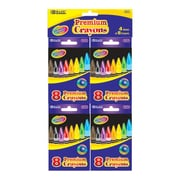 Bazic Premium Quality Crayon (Set of 4); Case of 72