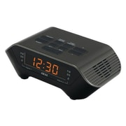 Akai AM/FM PLL Black Alarm Clock Radio (ce1000b)