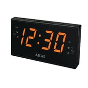 Akai AM/FM PLL Black Alarm Clock Radio (ce1008)