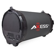 Axess  Portable Indoor/Outdoor Bluetooth Speaker, Black
