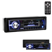 Boss  200 W Single-Din In-Dash Bluetooth AM/FM/USB Receiver with SD and AUX Front Inputs (619uab)