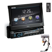 Boss  BV9967B Single-Din Car DVD Player, 7""