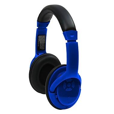 craig cbh508 bluetooth stereo headset blue staples. Black Bedroom Furniture Sets. Home Design Ideas