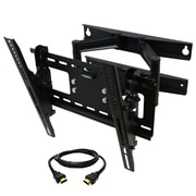 "MegaMounts Tilt Swivel and Articulating Wall Mount for 23""- 46"" TV with HDMI Cable (91953)"