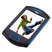"Naxa  nmv179x Portable 8GB Media Player with 2.8"" Touch Screen, Blue"