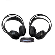 Pyle  PLVWH6 Mobile Video Stereo Headphones, Black