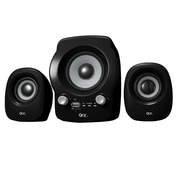 QFX  CS-260 2.1 USB Powered Multimedia Speaker System, Black