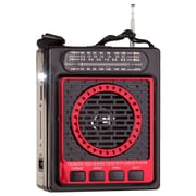 QFX  CS87 Portable PA Speaker System, Red