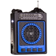 QFX  CS87 Portable PA Speaker System, Blue