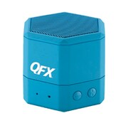 QFX  BT43WA Portable Hand Free Wireless/Wired Speaker, Blue