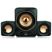 QFX  CS-258 2.1 Multimedia Speaker, Black