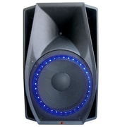 QFX  SBX-1518BTL Bluetooth 2-Way Cabinet Speaker, Black