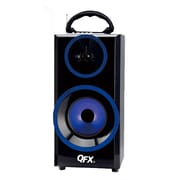 QFX  CS168 Bluetooth Multimedia Speaker, Blue