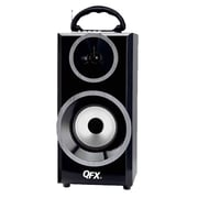 QFX  CS168 Bluetooth Multimedia Speaker, Silver