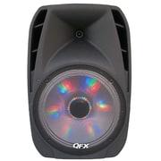QFX  pbx-61152btl Portable Wireless/Wired Party Speaker, Black