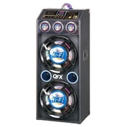 QFX  SBX-412207BT Bluetooth/NFC Cabinet PA Speakers