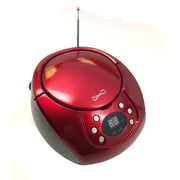 Supersonic  IQ Sound  SC507MP3 Portable MP3/CD Player, Red