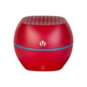 Vivitar 92109 V1322BT Mini Bluetooth Speaker with Speakerphone, Red