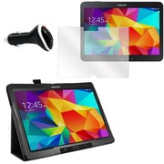 Mgear Screen Protector, Folio and Charger for Galaxy Tab 4 T530 (91540)