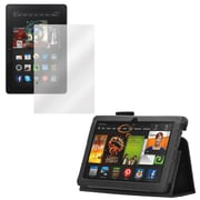 Mgear Screen Protector and Folio for Kindle Fire HDX 3Gen (91571)