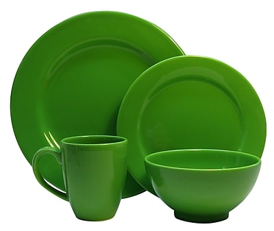 Waechtersbach Fun Factory 16 Piece Dinnerware Set; Green Apple WYF078275577893