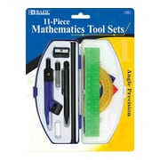 Bazic Student Math Tool Set; Case of 72