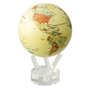 MOVA 4.5'' Antiqued Globe with Crystal Base