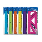 Bazic Geometry Combination Ruler Set; Case of 144